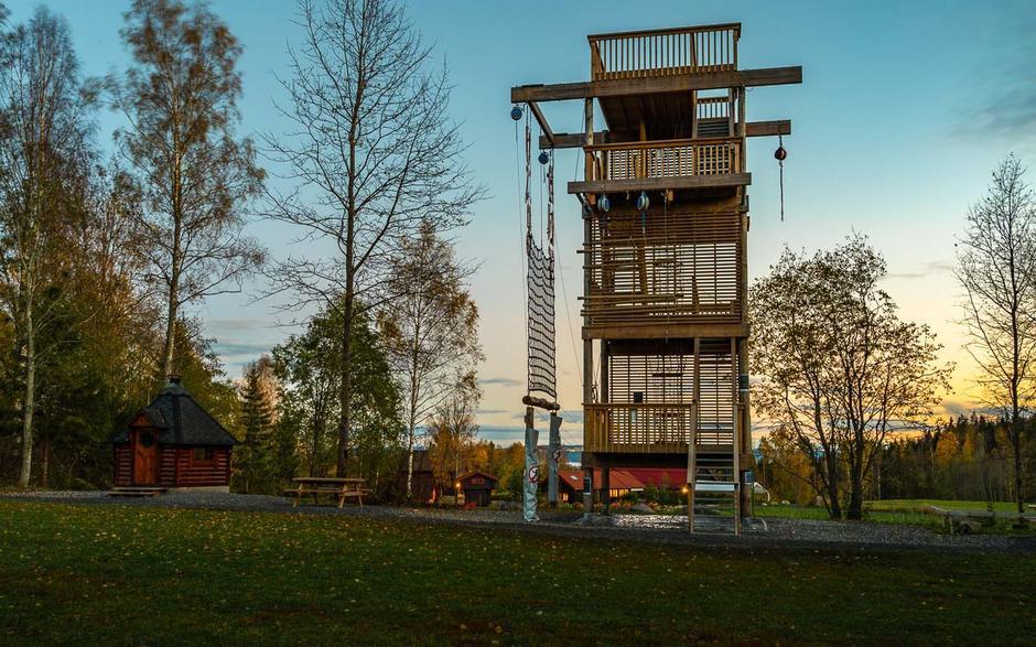 Utkikkstårn.