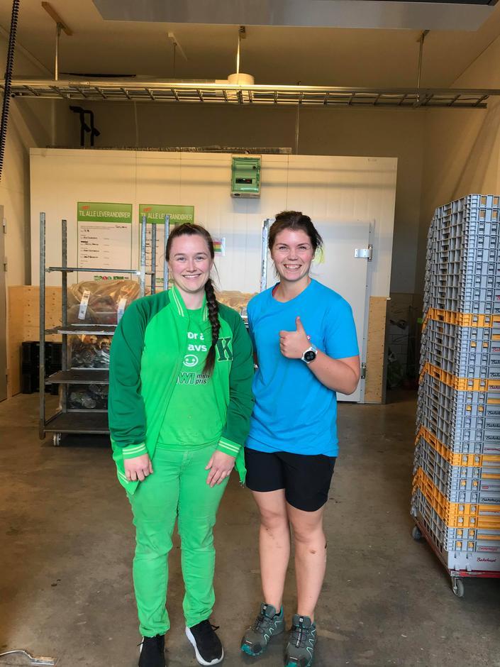 Tusen takk til KIWI som sponser Turboleirene med masse god mat! Kjempefint pakket på Kiwi Sjusjøen, så det var oversiktlig og raskt for HHTs ledere å pakke varer i bilene. Veldig hyggelig bemanning på Kiwi Sjusjøen!