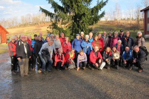 Juleavslutning for turgruppa Ut på tur Lier på Lier Bygdetun