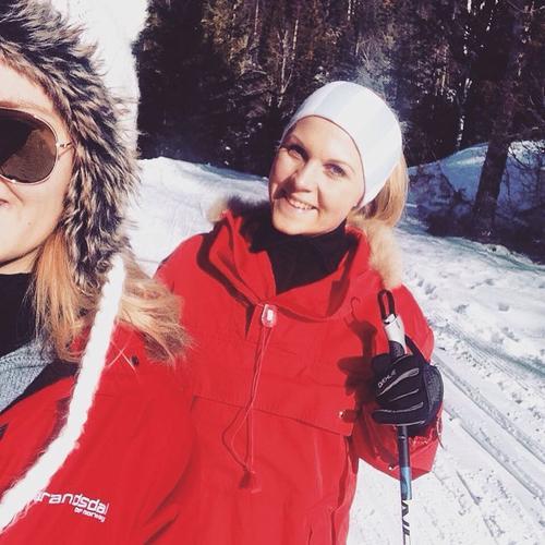 ☀️🎿❄🇳🇴️😎👌🏼#drømmeforhold #utepåtur #skitur #liveterbestute #crosscountryskiing #utno #konnerudmarka #langrenn #turjenter #visitnorway #blirikkebedreenndette