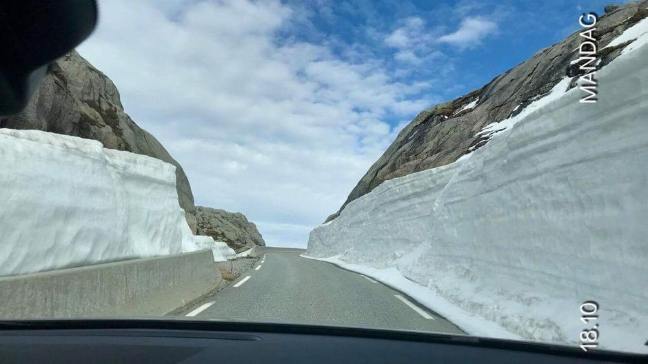 Veien mellom Sirdalen og Lyseboten er åpen!