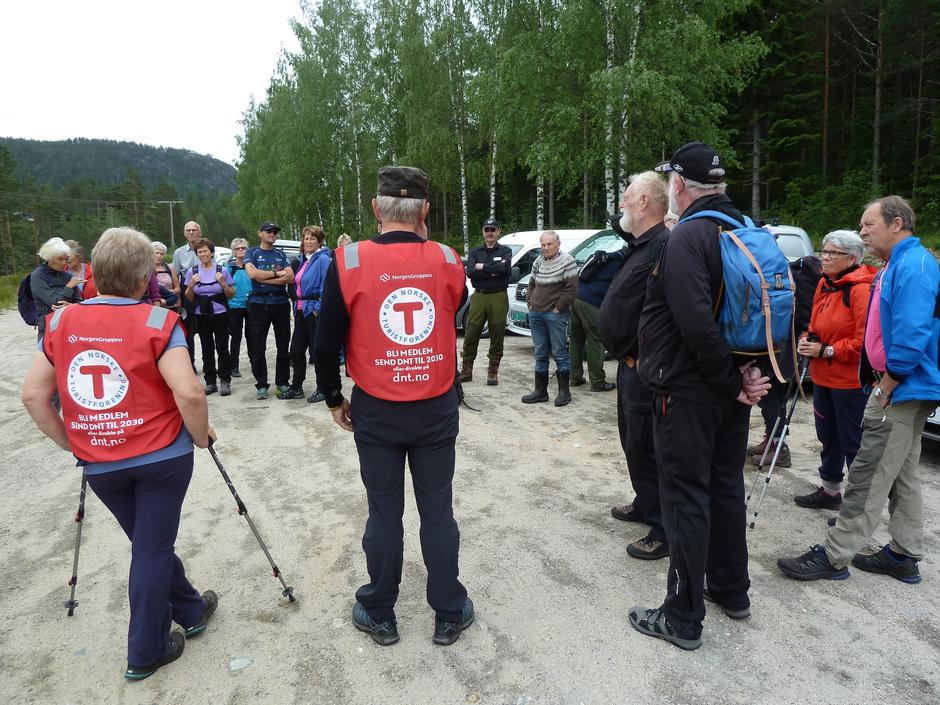 Turstart ved Lundvann.