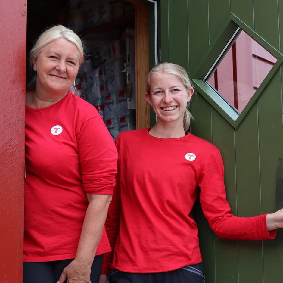 Ingeborg og Kristine