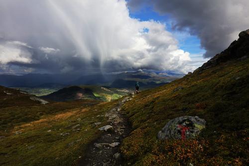 Nyanser av grått over Gråsio