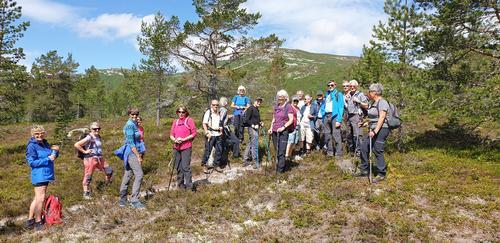 Seniortur - Sørstul og Nordstul på Storeble