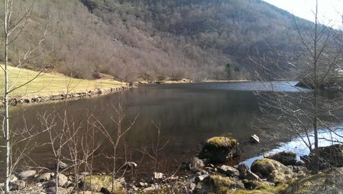 Barnas Turlag Jølster hadde tur til Paulsvatnet  17.april