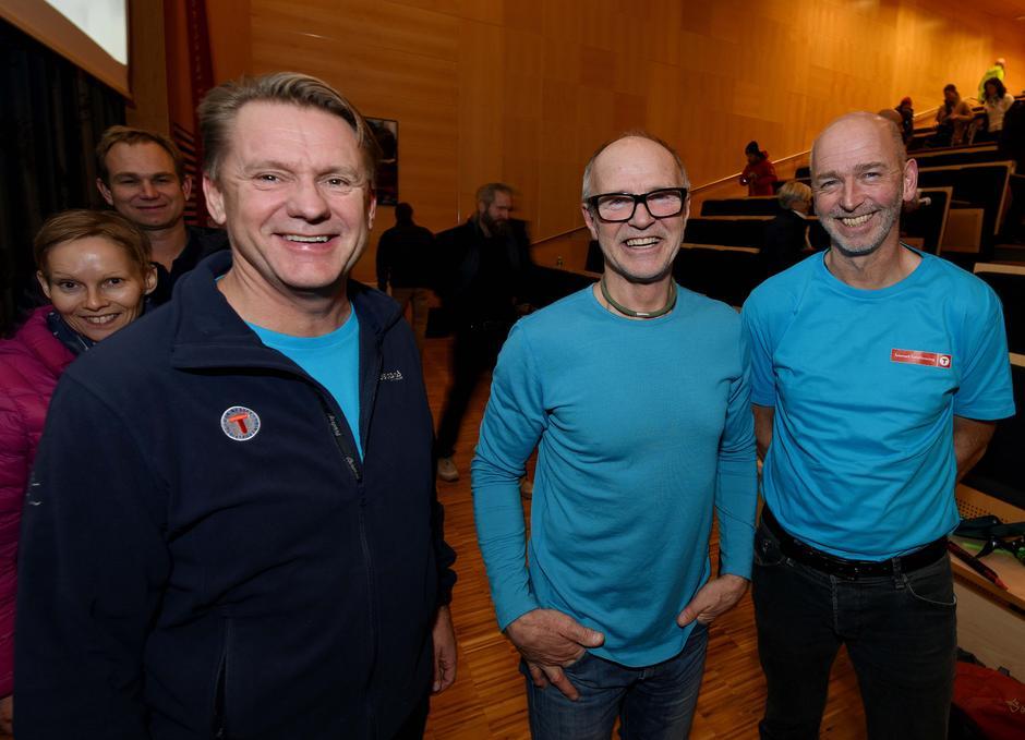 DNT Fjellsport Telemark innviterte til Fjellsportsamling 17.november i Skien Fritidspark. Stein P. Aasheim var på besøk og holdt et flott foredrag for de ca. 70 deltagerene.