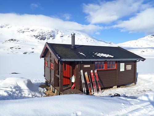 Åpning av hytter