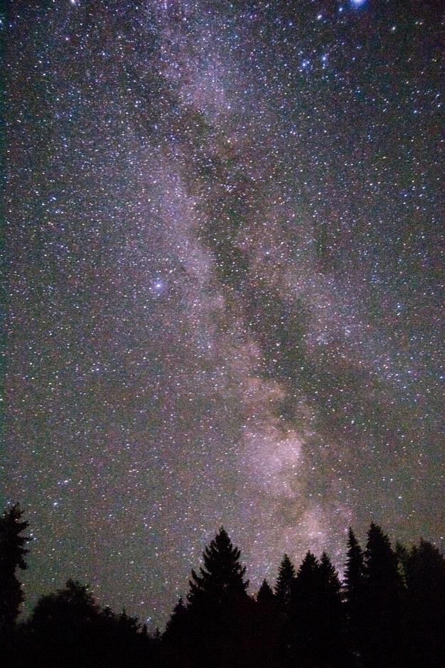 Stjernehimmelen i Innlandet.