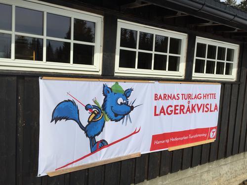 Barnas Turlag hytta Lageråkvisla