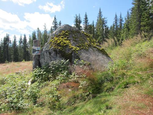 Kirkesteinen er ett av turpassmålene i år