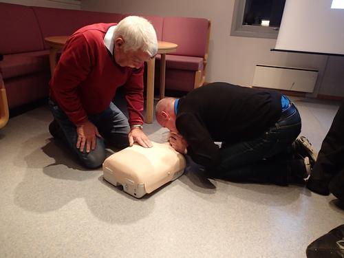 Turlaget med livreddande førstehjelpskurs