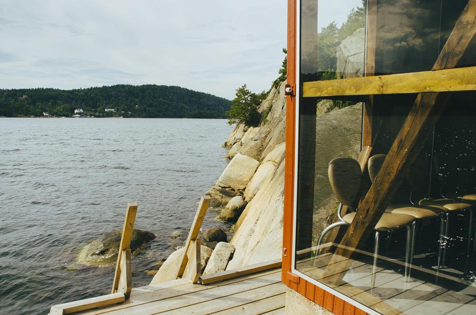 Den nye kystledhytta Jacobinebua tilbyr overnatting og nær-sjøen-opplevelse.