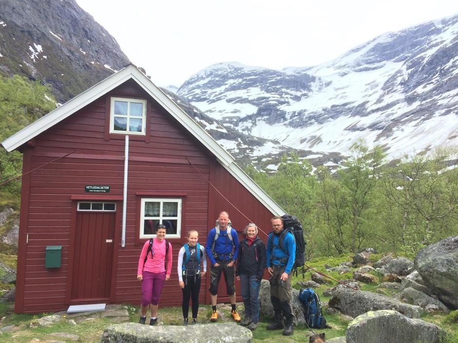 28.05.2016 - Overnattingstur på Vetledalssetra