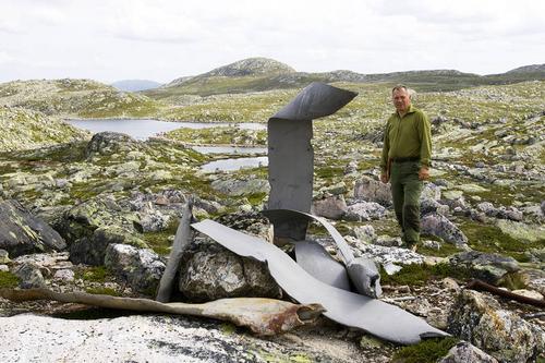 Har du besøkt flyvraket på Hardangervidda?