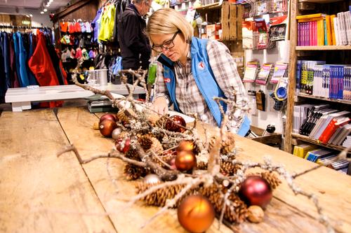 Åpningstider i Tursentrene rundt jul