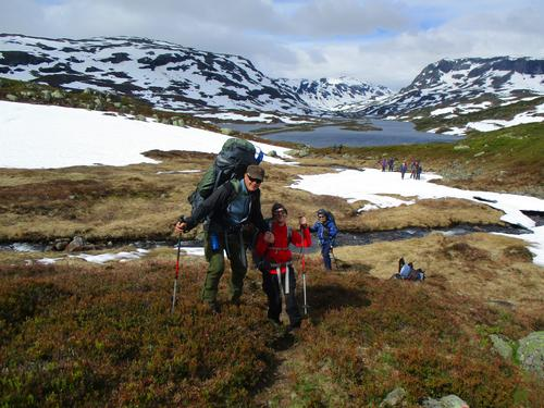 Femte året med Rubenstur på Hardangervidda