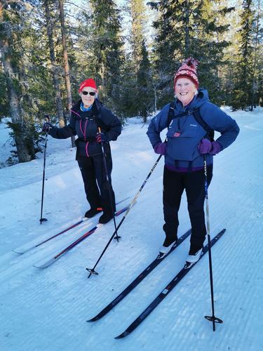 Skitur til Vollkoia/Blåmyrkoia 22.01.2020.