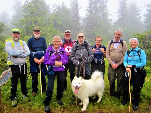 Tur til Nylsfjellet, Nordre Land søndag 16. juli.