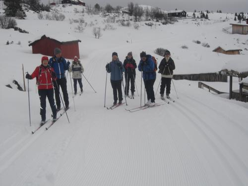 15. mars hadde Seniorgruppa skitur i Tansbergrunden