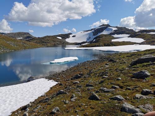 Slik gjekk turen: Fossfjellet rundt
