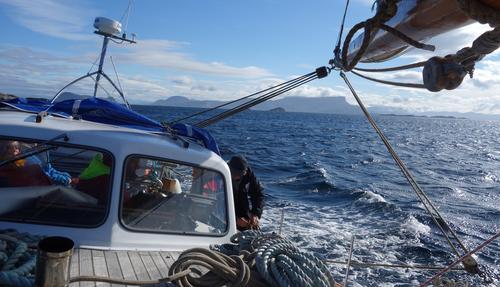 Seiling på Vestlandet