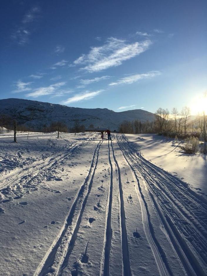 På vei til Ådneram med Barnas Turlag