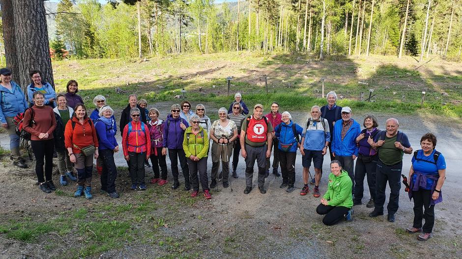 Fornøyde deltakere på Storøya.