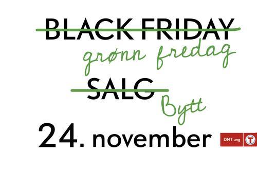 Grønn fredag- miljøets svar på Black Friday