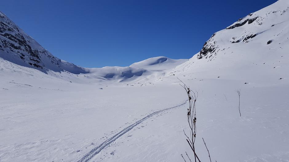 Trulsbu, 1290 moh, retning Lundadalsbandet og Nørstedalseter