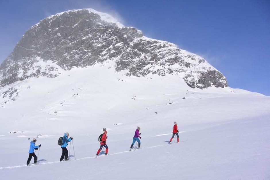 19. mars Haukeliseter fjellstue Fikk 1 meter med nysnø 17. mars