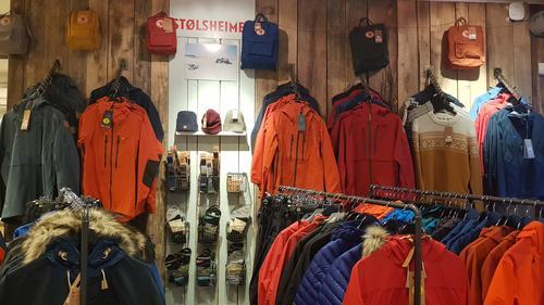 Vintersalg i Tursenteret - 30 % medlemsrabatt på skallbekledning