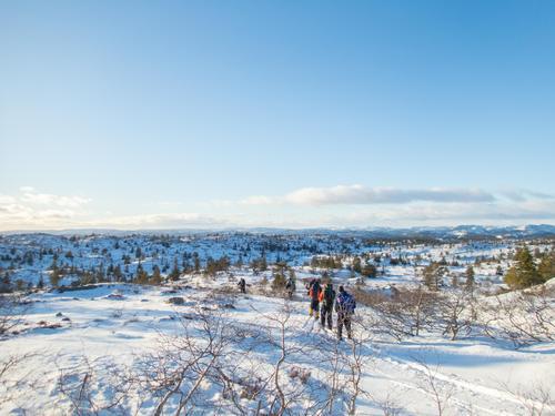 Turreferat: Adventtur til Mjåvasshytta desember 2017
