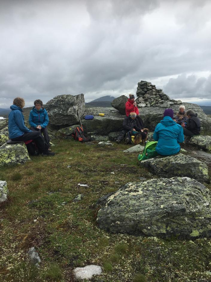 Rast på Skreddalsfjellet
