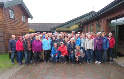 Fjelltur til Spidsbergseter med seniorgruppa