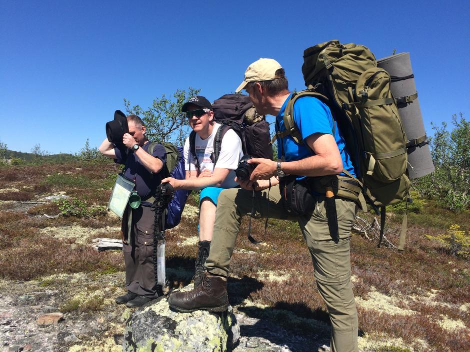 Tore Martinsen, Ole-Martin Høgfoss og Erik Brenden