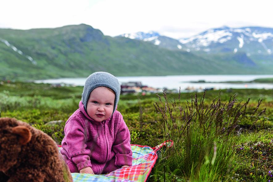 Den første telturen — Den Norske Turistforening