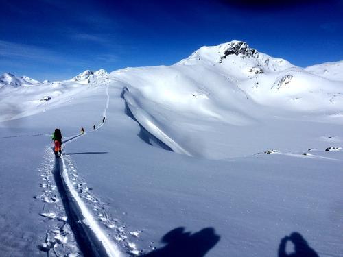 Høgruta Jotunheimen - skieventyr på aller øverste hylle
