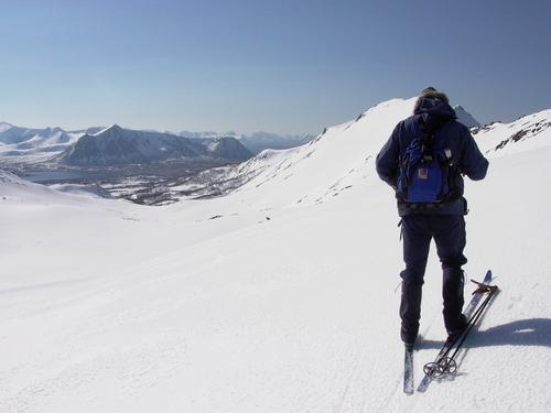 På ski til Kobbedalsvatnet