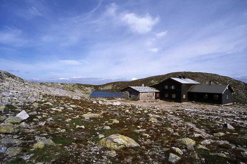 Høgevarde m/gammel hytte