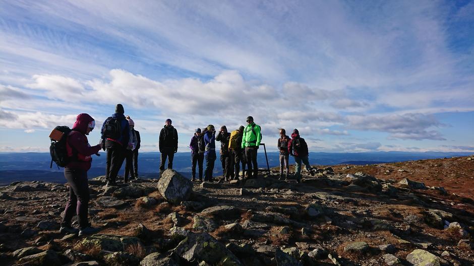 Tur til Nevelfjell i oktober 2021.