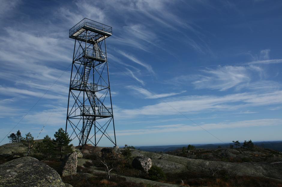 Branntårnet på Solhomfjell.
