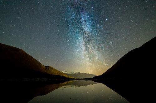 Melkevei over Neverdalsvatnet, Meløy