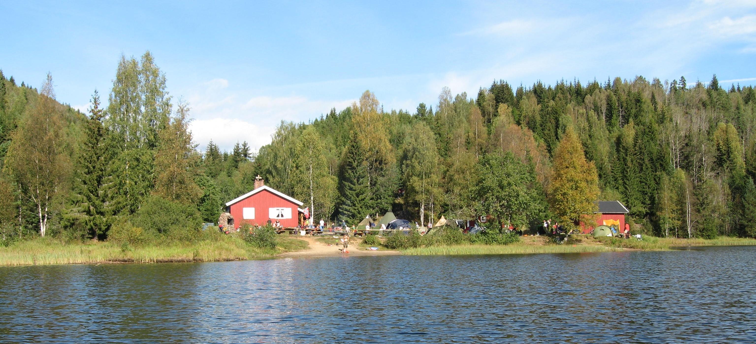 DNT Tilrettelagt, Vestfold, Høstrcamp på Trollsvann — Turer