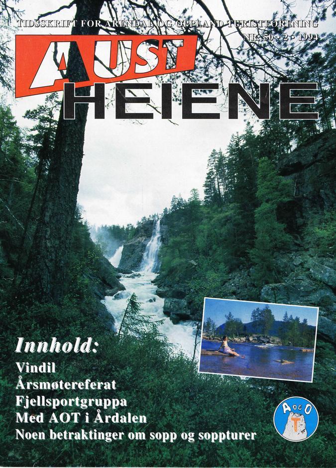 forsiden fra Austheiene nr. 50 1994-2
