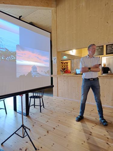 Tor-Magne Gangsøy fra Ytre Nordfjord Turlag