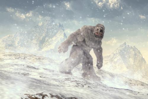 Den avskyelige snømannen ved Mosdalsbu