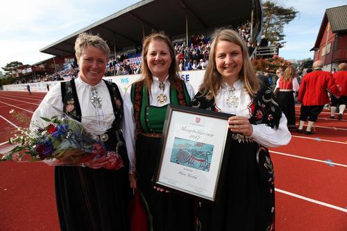 Flora Turlag fekk Mangfaldsprisen 2017!