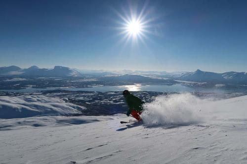 Det kan være fin skisnø på Kvannfjellet