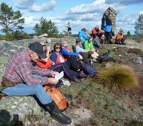 Frå vakker haustdag på Ormfjell og Havrefjell 18.09.2019